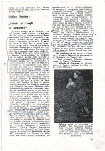 Articol de Catalina Buzoianu