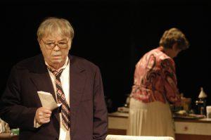 Fotografie din spectacolul Comedie rosie - Ion Lucian si Raluca Petra