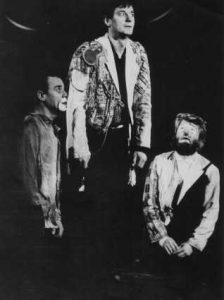 Fotografie din spectacolul Hamlet