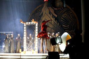 Fotografie realizată de Sorin Radu din spectacolul Elisaveta Bam. Sursa Amprente în Fest Naţional de Teatru