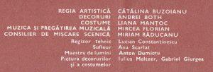 Maestrul și Margareta, Teatrul Mic București, 1980 altmarius.ning.com, Caiet program