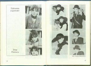 Valoarea expresiei: Irina Petrescu, revista Teatrul nr 2, 1988
