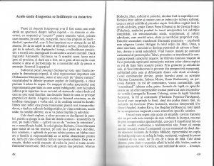 cronica Cristina Modreanu, Amantii insangerati, regia Alexandru Tocilescu