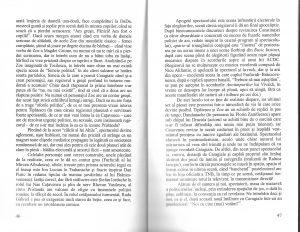 cronica Cristina Modreanu, O scrisoare pierduta, regia Alexandru Tocilescu