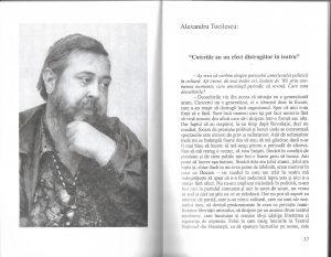 interviu cu Alexandru Tocilescu