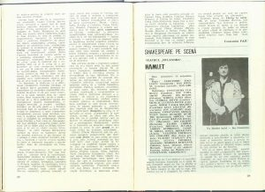 cronica hamlet - Teatrul - 1986 - 1